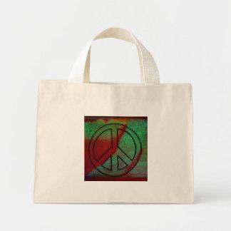 Paz terrosa bolsas de mano