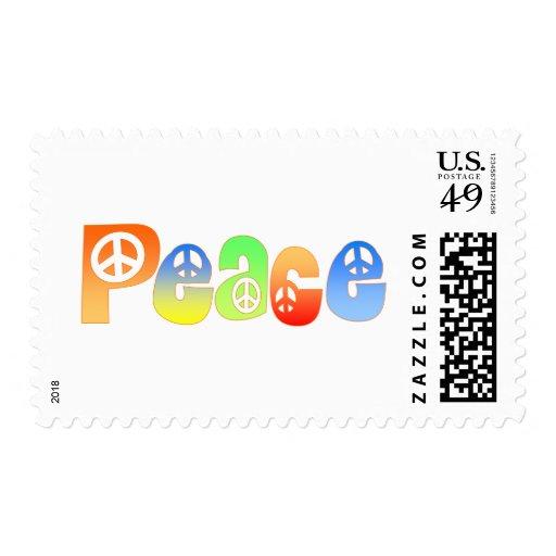 Paz Timbre Postal