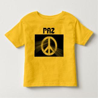 PAZ toddler shirt