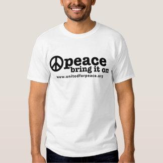 Paz--Tráigala encendido Playeras