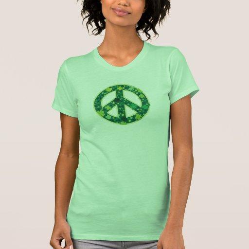 Paz-Trébol Camiseta