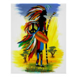 Paz tribal impresiones