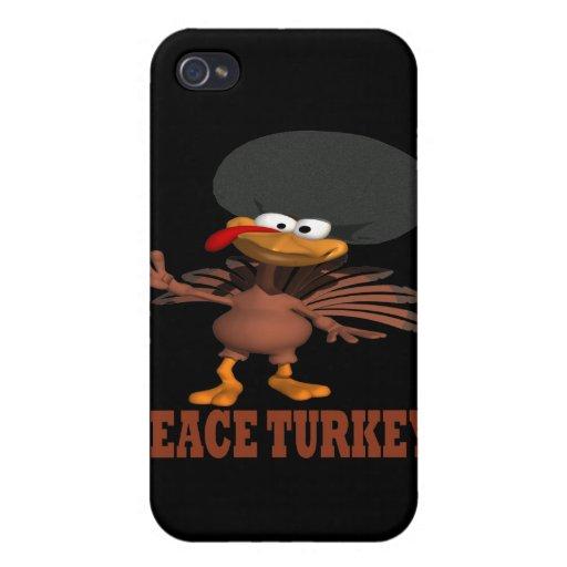 Paz Turquía iPhone 4 Funda