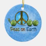 Paz verde - ornamento ornamento para reyes magos