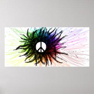 Paz viva póster