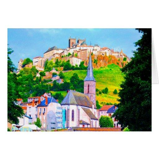 paz y alegría de la iglesia de la ciudad de Franci Tarjeton