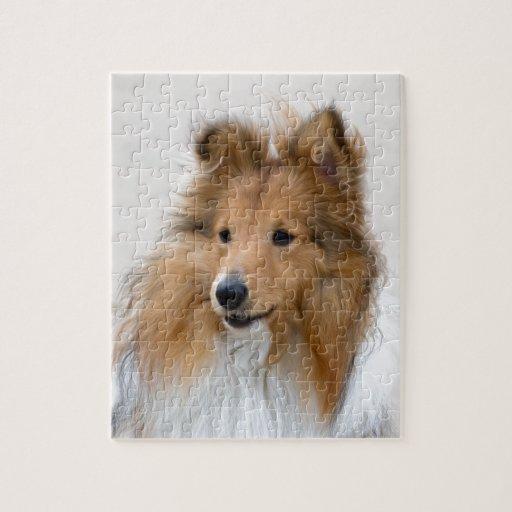 paz y alegría del perro puzzle con fotos