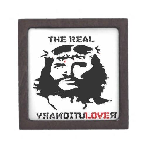 paz y alegría reales de la revolución del Jesucris Caja De Regalo De Calidad