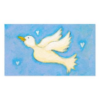 Paz y amor - arte del bonito de la diversión de lo plantilla de tarjeta de visita