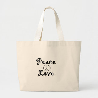 Paz y amor bolsa