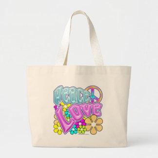 Paz y amor bolsas
