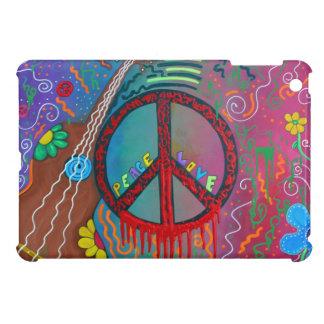 Paz y amor iPad mini fundas