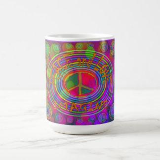 Paz y amor - imagínese la taza