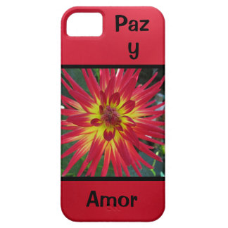 Paz y Amor - La Dalia iPhone SE/5/5s Case