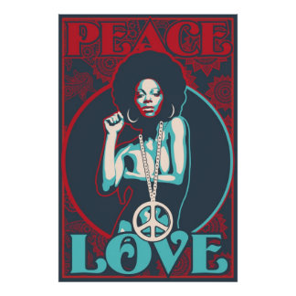 Paz y amor posters