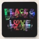 Paz y amor posavaso