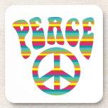 ¡Paz y amor! Posavasos
