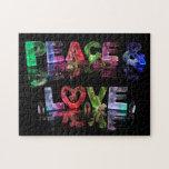 Paz y amor puzzle
