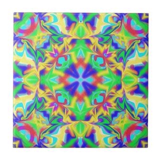 Paz y armonía azulejo cuadrado pequeño