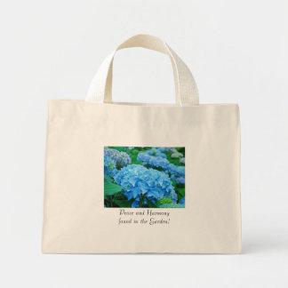 ¡Paz y armonía encontradas en el jardín! Tote flor Bolsas