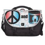Paz y bolso del ordenador portátil del viajero de  bolsas para portatil