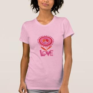 Paz y camiseta del AMOR Poleras