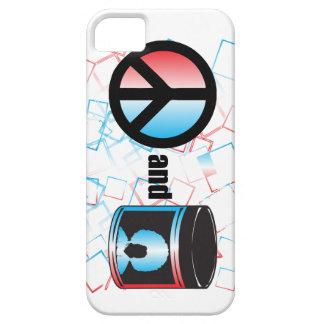 Paz y caso universal del iPhone 5 de la grasa de Funda Para iPhone SE/5/5s