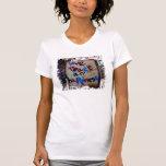 paz y felicidad del amor camisetas