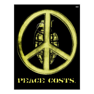 Paz y guerra (amarillo) poster
