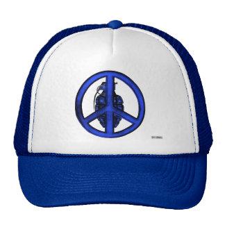 Paz y guerra (azules) gorras
