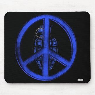 Paz y guerra (azules) tapete de ratones