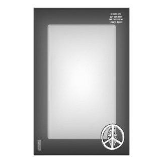 Paz y guerra (blancas) papelería
