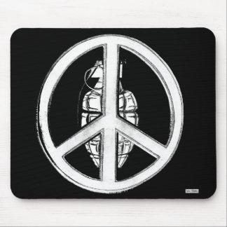 Paz y guerra (blancas) tapete de raton