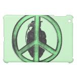 Paz y guerra (verde/gris del metal de arma)