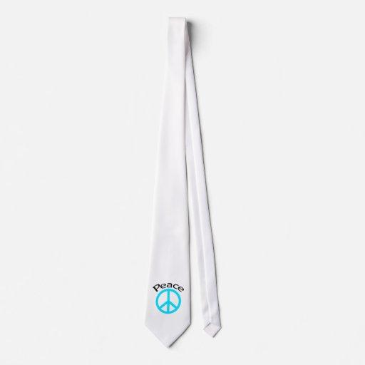 Paz y palabra del trullo corbatas personalizadas