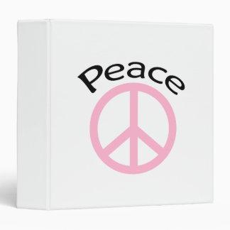 Paz y palabra rosas claras