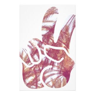 Paz y palmeras  papeleria de diseño
