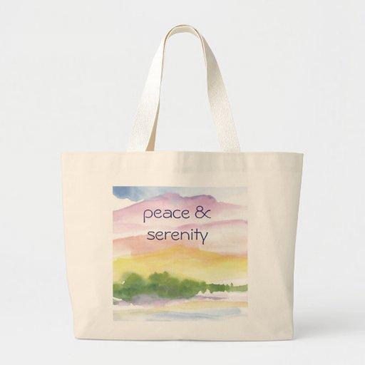 paz y serenidad bolsas