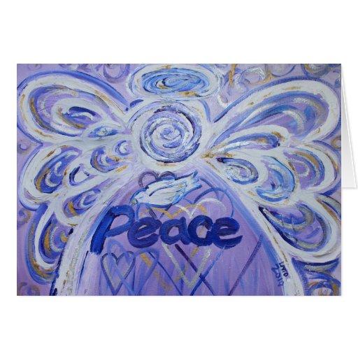 Paz y tarjeta de la condolencia de la condolencia