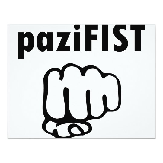 pazifist icon card