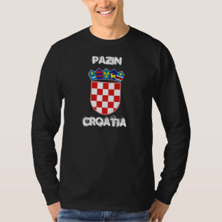 Pazin, Croatia with coat of arms Shirts
