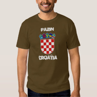 Pazin, Croatia with coat of arms T Shirts