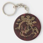 pazyryk animal key chain