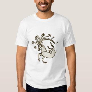 Pazyryk Deer Mens/unisex Dark Design T-shirt