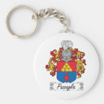 Pazzaglia Family Crest Key Chains