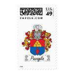 Pazzaglia Family Crest Postage Stamp