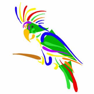 Pazzie Parrot Photo Cutouts