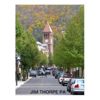 pb030803_main_street2, PA de THORPE de JIM Tarjeta Postal