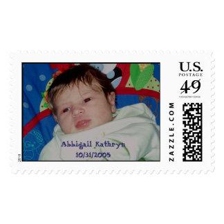 PB050151, Abbigail Kathryn10/31/2005 Postage