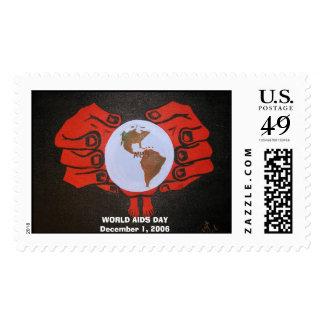 Pb060021-2, SIDA DAYDecember 1, 2006 del MUNDO Sellos